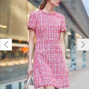 Kate spade multi tweed dress size 4